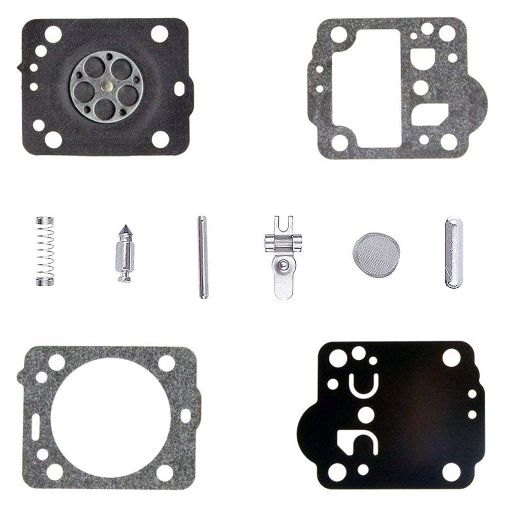 QAZAKY Carburetor Diaphragm Gasket Rebuild Repair Kit for Zama RB-149 Husqvarna 235 240 236 435 435E C1T-W33 EL41A