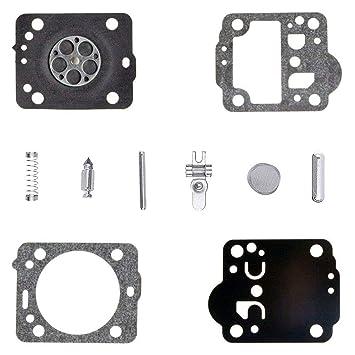 Vergaser Reparatursatz passend für Zama RB-69 Membrane Dichtung Membransatz