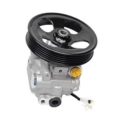 New Power Steering Pump For Subaru Forester 34430 SA010 21-5330, 2003 2004  2005 2006 2007 Power Steering Pumps (With Pulley and Sensor)