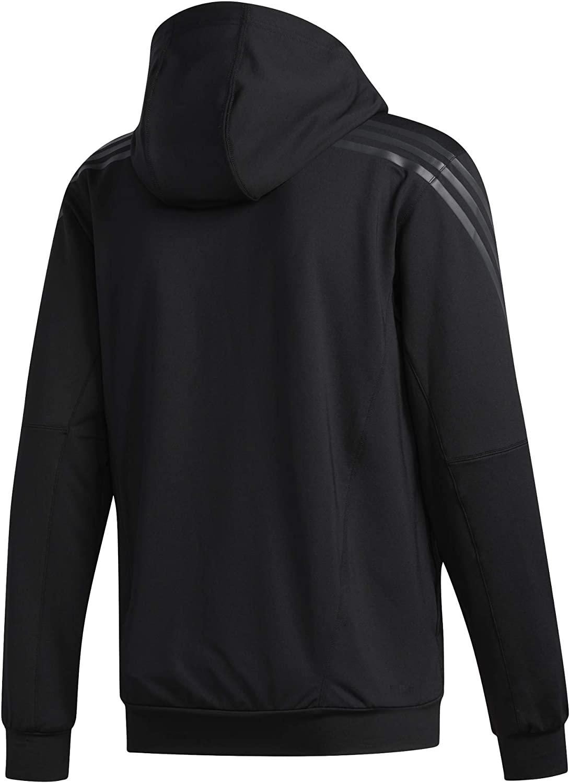 adidas Herren Aero 3s Cw HDY Sweatshirt Schwarz