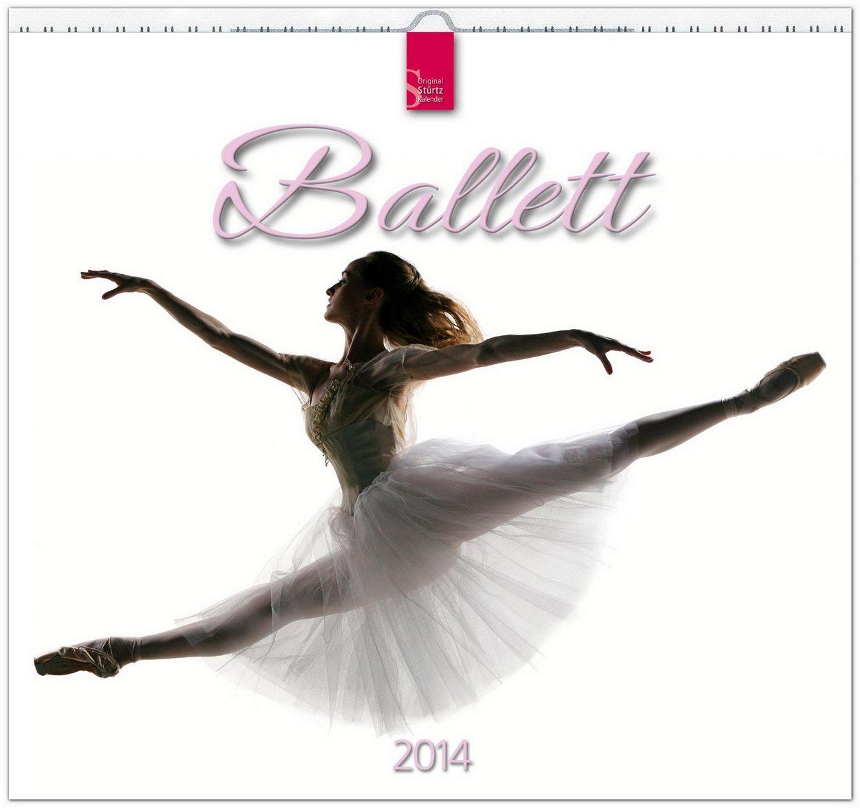 ballett-2014-original-strtz-kalender-mittelformat-kalender-33-x-31-cm-spiralbindung
