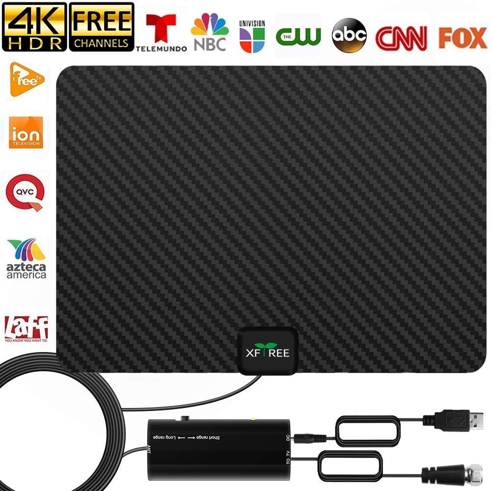 Electronics TV Antennas ghdonat.com TV Antenna Black 16.5ft Coax ...
