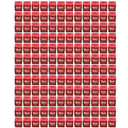 Master Billiard/Pool Cue Chalk, Gross Box, 144 Cubes, Red