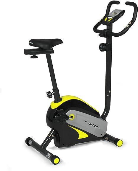 Diadora Swing Bicicleta Estática, Color Negro/Amarillo: Amazon.es ...