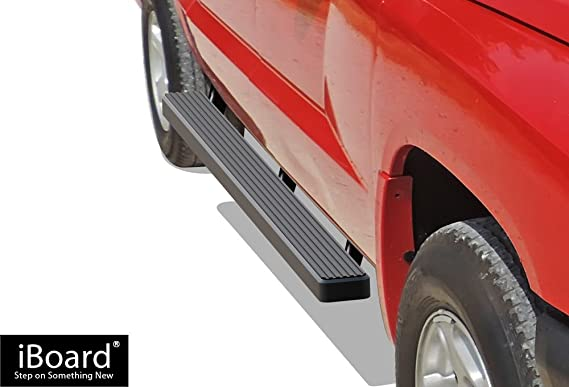 iBoard estribos para 2005 - 2011 Dodge Dakota Quad cabina Pickup 4 puertas: Amazon.es: Coche y moto