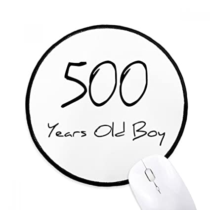 amazon 500 years old boy age round non slip mousepads black Classic Games image unavailable