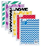 Mead Spiral Notebooks, 1 Subject, Wide Ruled, 10-1/2