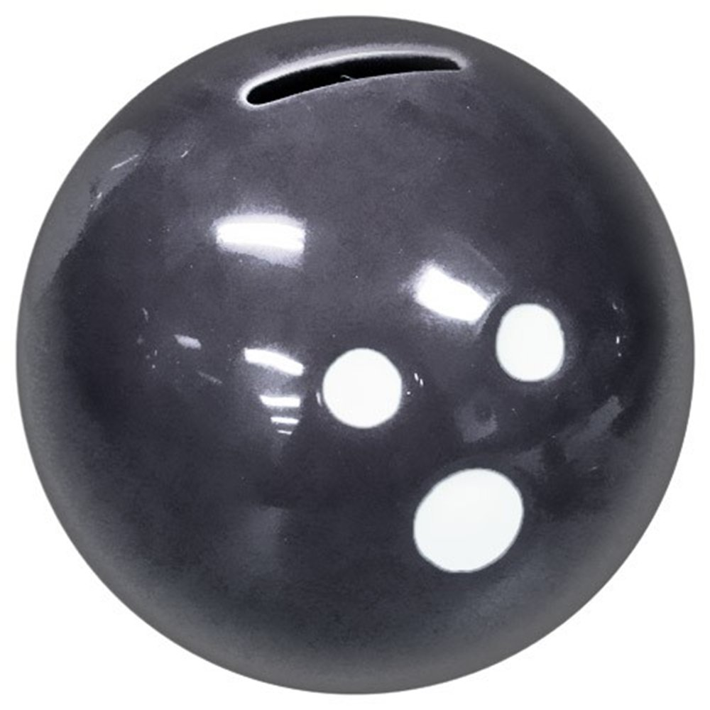 Ceramic Bowling Ball Bank- Black by Bowlerstore Products   B01MDMMR8I