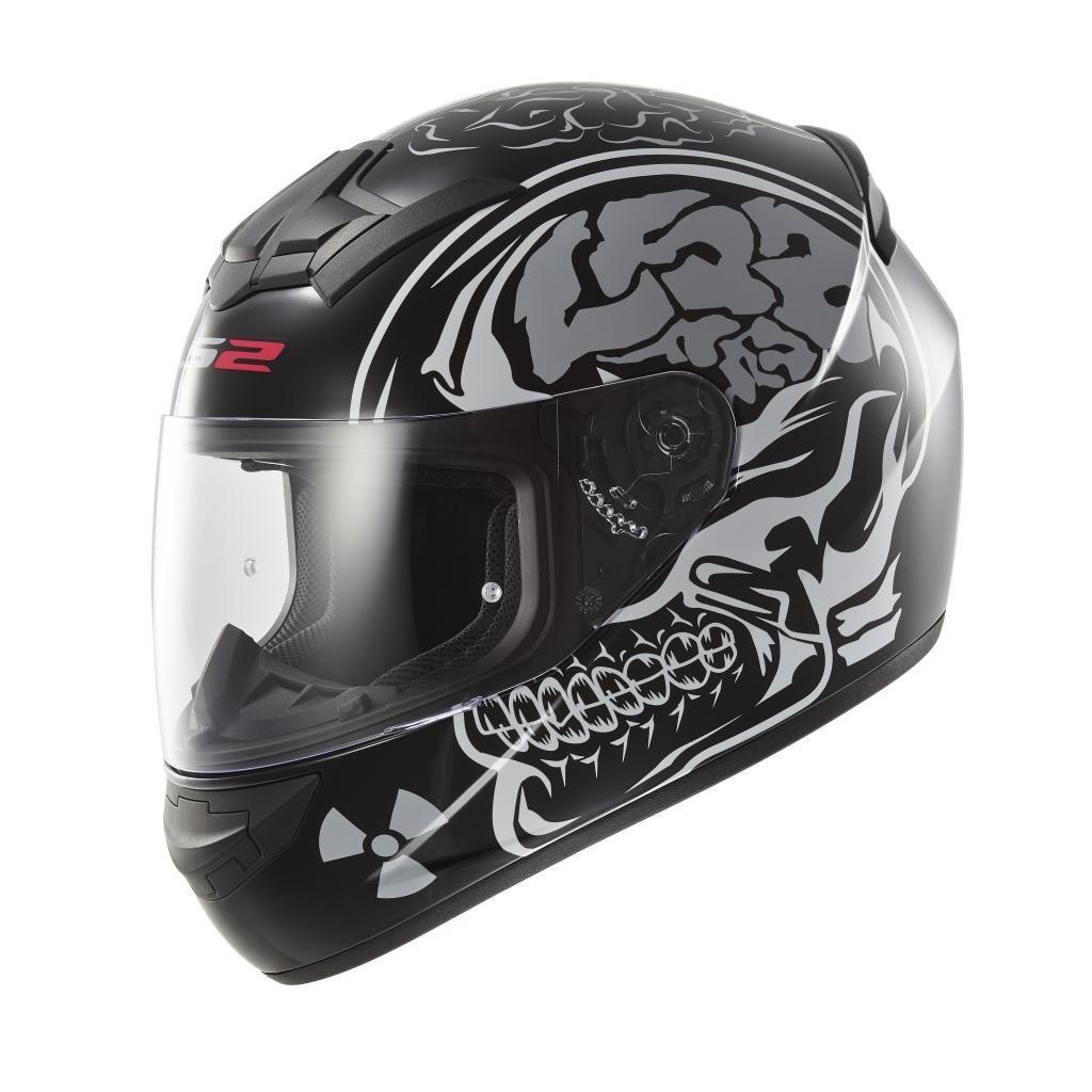 LS2 Casco Integral, Negro Cráneo, M product image
