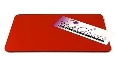 Schwarz und Transparent Base Shaper Einlegeboden für Speedy25 in Rot
