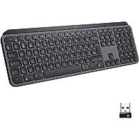 Logitech MX Keys Advanced Teclado Inalámbrico, Bluetooth, Clara Respuesta Táctil, Retroiluminación, USB-C, PC/Mac…