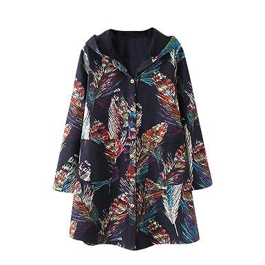 Logobeing Abrigos Mujer Invierno - Tallas Grandes Abrigo Chaquetas Jersey Suéter Cardigans Mujer Sudaderas Mujer con