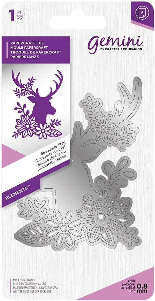 Crafter S Companion Gemini Elements Silhouette Stag Die Amazon Co Uk Welcome