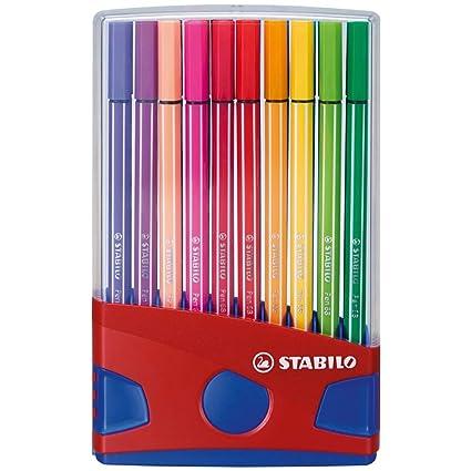 Rotulador STABILO Pen 68 - Estuche premium Colorparade con 20 colores