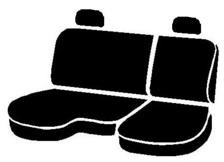 Gray Fia TR49-24 GRAY Custom Fit Front Seat Cover Split Seat 40//20//40 Saddle Blanket,