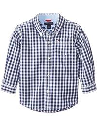 Baby Boys' Long Sleeve Gingham Shirt