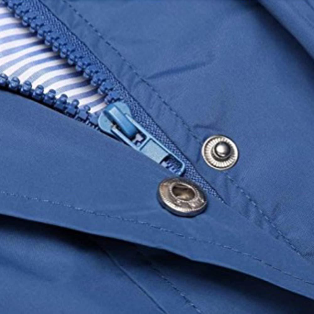 Teresamoon Womens Solid Rain Jacket Outdoor Hoodie Waterproof Hooded Raincoat Windproof Clearance