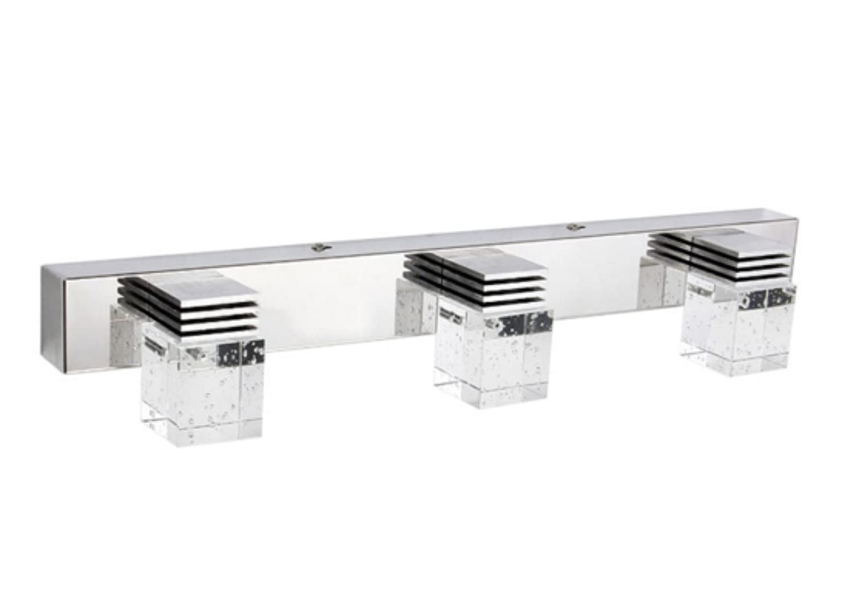 Modern K9 Crystal Led Bathroom Make Up Mirror Light Cool: Lightess LED Bathroom Vanity Mirror Light Fixtures Crystal
