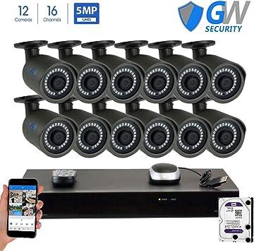 WM POE 5MP IP Camera H.265 Network Onvif P2P 24 IR Night Vision Indoor Dome