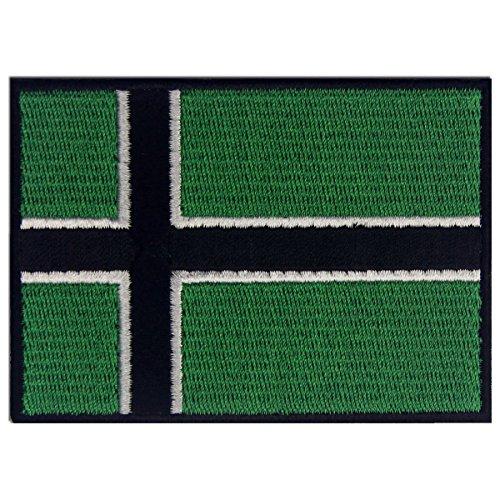 Vinland Viking Flag Embroidered Patch Leif Erikson Iron