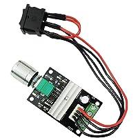 Festnight 1203BB 6V 12V 24V 3A 80W DC Motor Speed Controller PWM Adjustable Reversible Motor Driver Switch