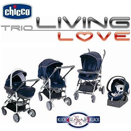 Chicco - Pegaso, sistema de montaje para coche, Serie Trio Living ...