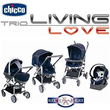 Chicco - Pegaso, sistema de montaje para coche, Serie Trio Living Love: Amazon.es: Bebé