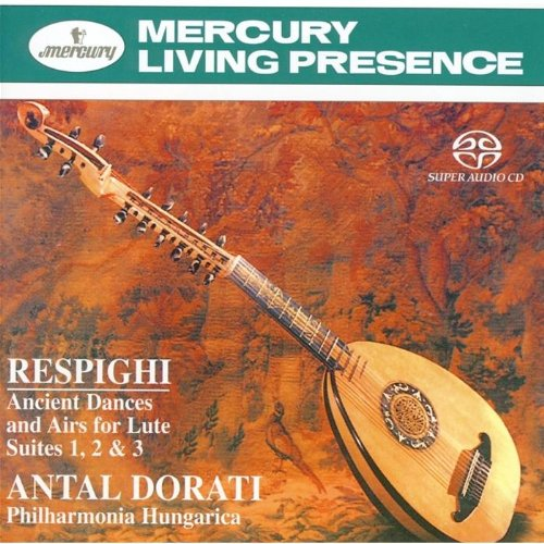 Price comparison product image Respighi: Ancient Dances and Airs for Lute Suites 1, 2 & 3