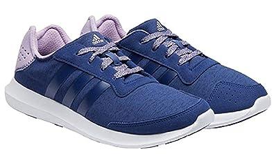 adidas Performance Women's Element Refresh W running Shoe Navy Purple 6