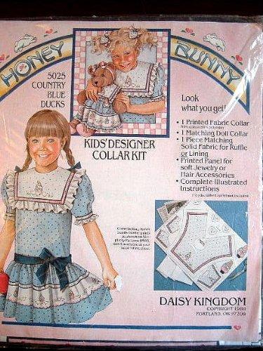 (Cpimtru B;ie Dicls - Kids Designed Collar Kit from Daisy Kingdom Honey Bunny Collection)