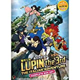 Lupin The 3rd :The Italian Adventure (TV 1 - 24 End) DVD 2 Discs (24 Episodes) Japan Japanese Anime / English Subtitles