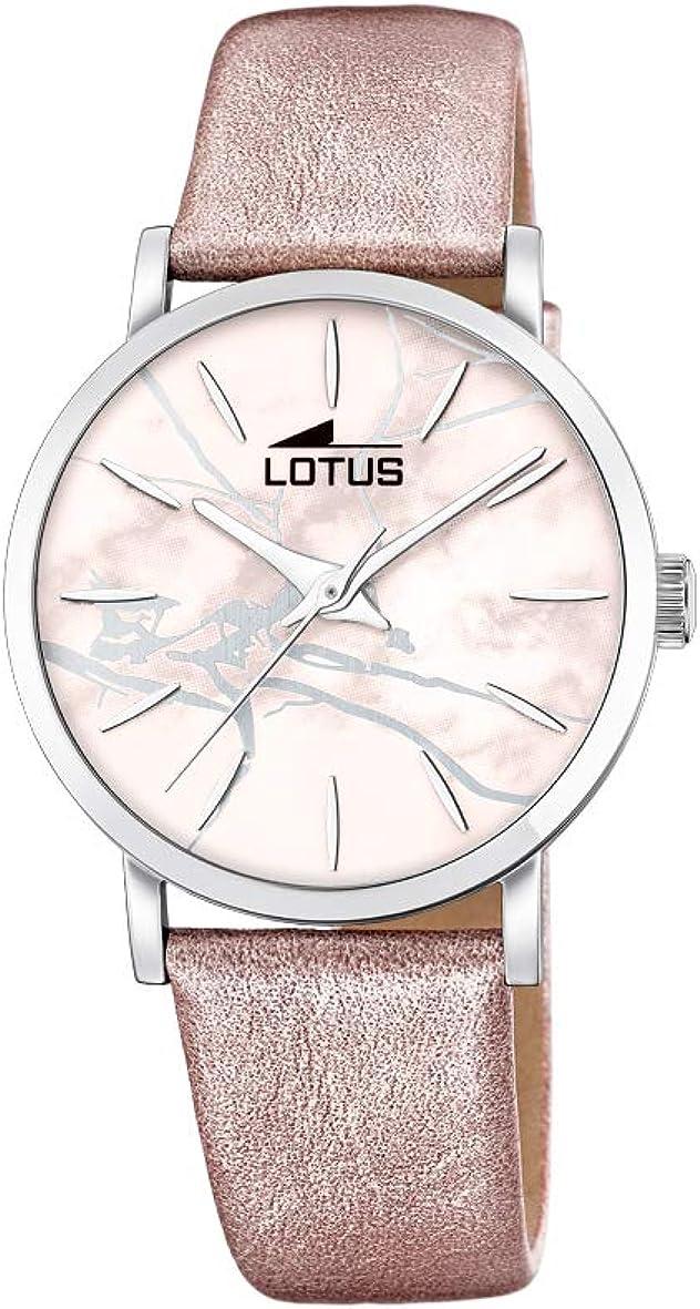 Lotus Reloj Analógico para Mujer de Cuarzo con Correa en Cuero 18667/2