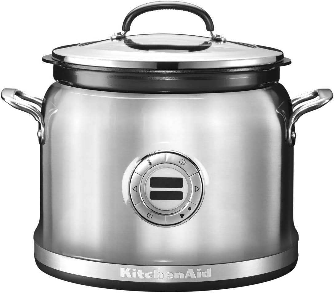 KitchenAid 5KMC4241 olla multi-cocción 4,25 L 700 W Acero inoxidable - Ollas multi-cocción (4,25 L, 700 W, Acero inoxidable, Acero inoxidable, LCD, 220-240 V): Amazon.es: Hogar