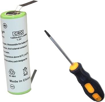 HQRP batería para Philips Norelco 5625X 5812XL 6613X 6614X 6615X ...