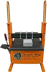 Krack Hog Paver, Block, Brick Splitter by EZG Manufacturing, 20 Ton Hydraulic Jack, Easy Foot Action Pedal
