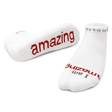 2e19a8600 Notes to Self Socks - Daily Affirmations, Inspirational Socks for ...