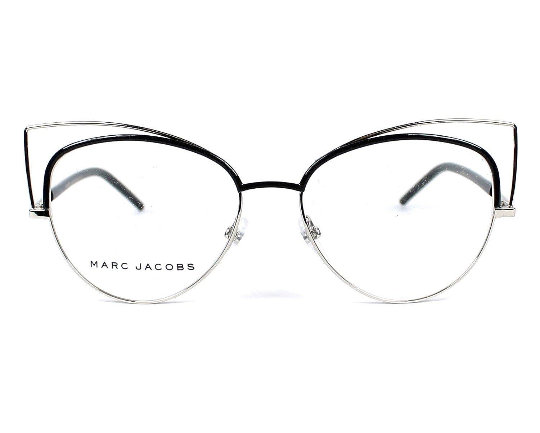 Black 53MM MARC JACOBS Eyeglasses MARC 12 0UUV Palladium