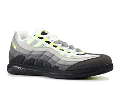 buy popular cfe36 0dd34 Nike Zoom Vapor RF X Am 95, Chaussures de Fitness Homme, Multicolore  (Black Volt-Medium As 078), 45 EU  Amazon.fr  Chaussures et Sacs