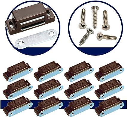 10//20//60 Pack Magnetschnäpper Schrank Tür Schnapper Schließer Möbelmagnete Set