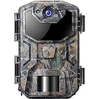 Cámara de Caza Nocturna 20MP 1080P con Detección de Acción Camara Fototrampeo Caza con 38pcs LED Negro Infrarrojo y…