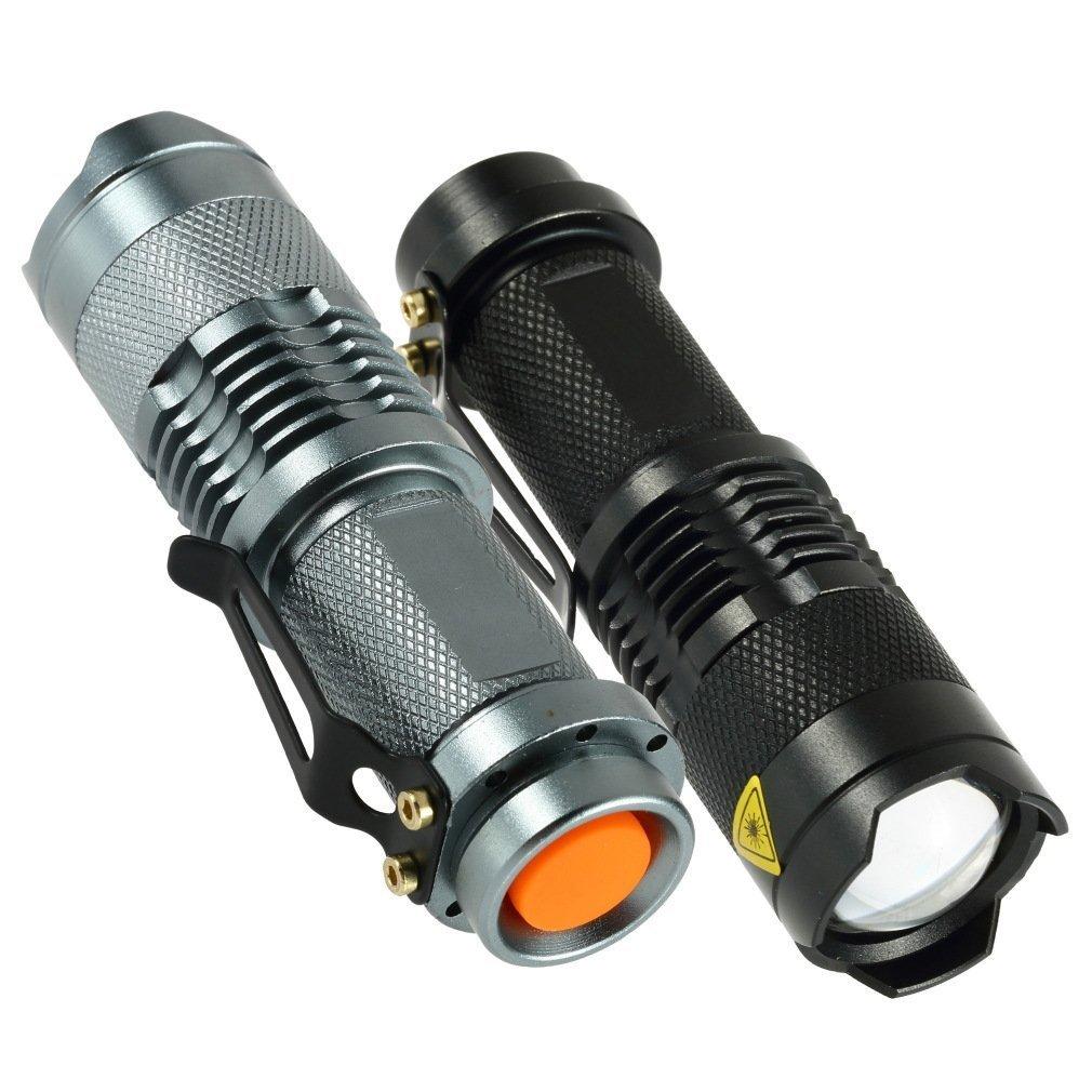 7W 300LM Mini LED Taschenlampe Taschenlampe Einstellbarer Fokus Zoom Licht Lampe Manchester Case