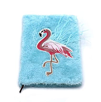 Buy Shopaholic Flamingo Furry Notebook-80-Pages (Flamingo-Blue) Online at  Low Prices in India - Amazon.in c91d186fc18b