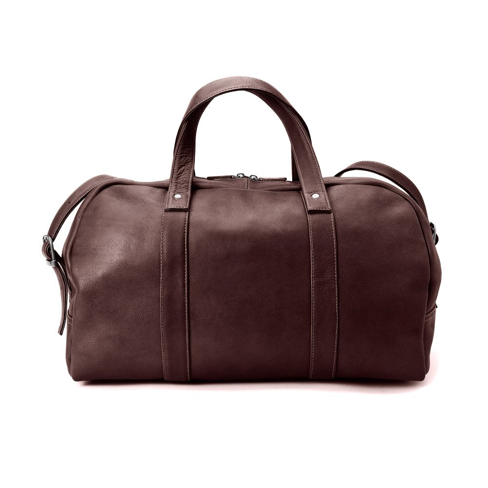 67c1d1062d Colombian Leather Simplified Duffel Color  Chocolate  Amazon.co.uk  Luggage