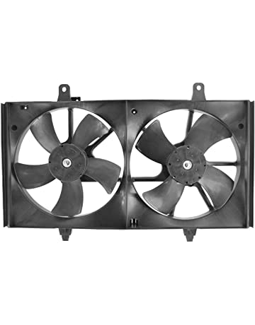 Dual Condenser Radiator Cooling Fan for Nissan Altima Maxima