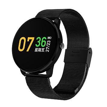 Reloj inteligente para mujeres hombres, [Fitness inalámbrico Bluetooth reloj inteligente] de regalo resistente