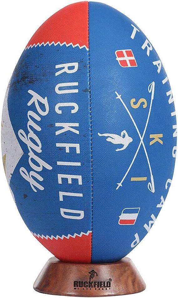 Ruckfield Ballon de Rugby Seven Noir