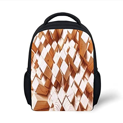 Amazon.com  iPrint Kids School Backpack Geometric Decor b5fec13dfbff1