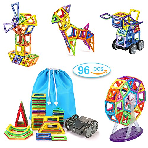 magnet toy building - 9
