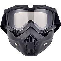 Máscara de motocross Madbike con gafas y filtro