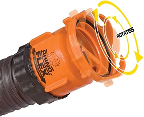 Amazon Com Camco Rv 39783 Rhinoflex Sewer Hose Swivel Bayonet Fitting With Lock Rings Everything Else